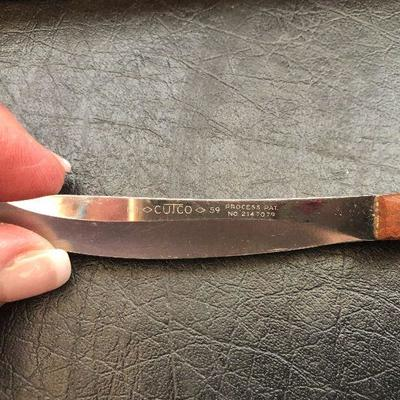K18: Cutco # 59 Steak Knives with Case
