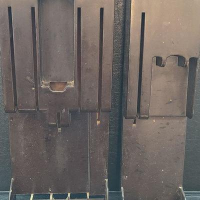 K55: Vintage Cutco Cutlery Knife Sets with Wall Mounts