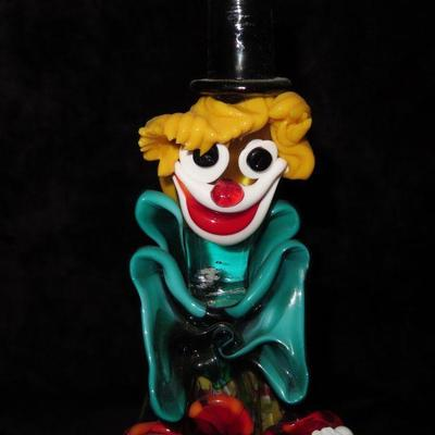 Vintage Murano Clown