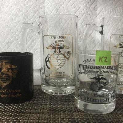 K2: Lot of Marine Mugs
