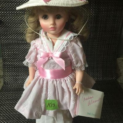 K13: Madame Alexander doll