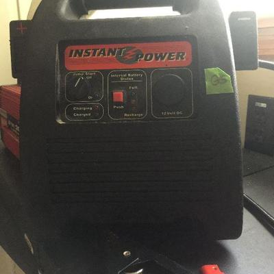 G5: Instant power battery jumper