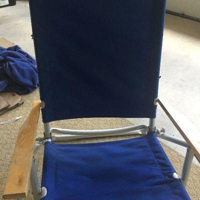 G10: Aluminum beach chair