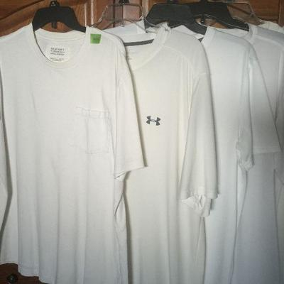M 3: White SS shirts (5)