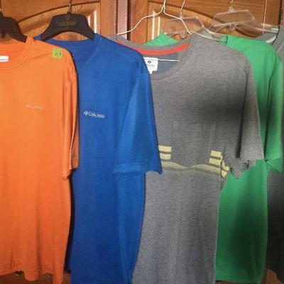 M 4: Asst SS shirts (5) xl and 2x