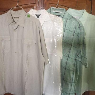 M 10: Asst. Dress shirts S/S XL (4)