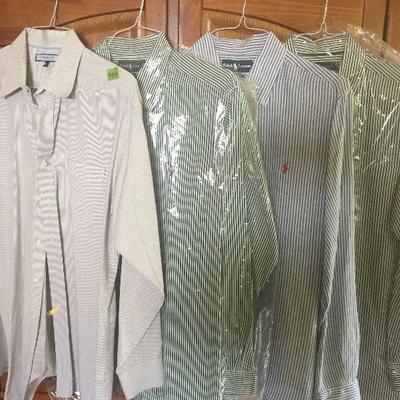 M 14: Designer striped shirts XL