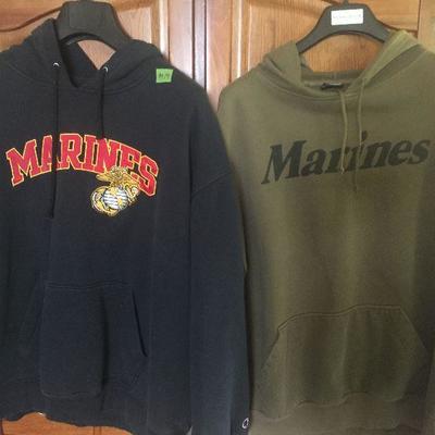 M 19 : Marine Corps Sweatshirts XL