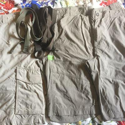 M 28 : Columbia cargo shorts (4) 36, 12