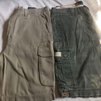 M 29: Nautica woven cargo shorts (2)