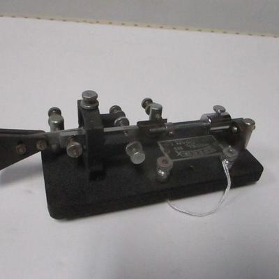 Lot 4 - 1930's/40's Les Logan Speed-X Model-515 Telegraph Bug