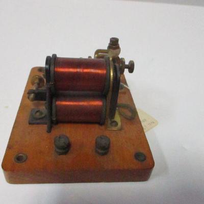 Lot 7 - No, 1238 Relay Sounder - Edwards Signal Co. 1872
