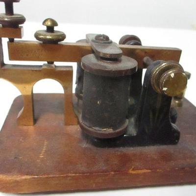 Lot 9 - J.H. Bunnell & Co. NY Telegraph - Sounder
