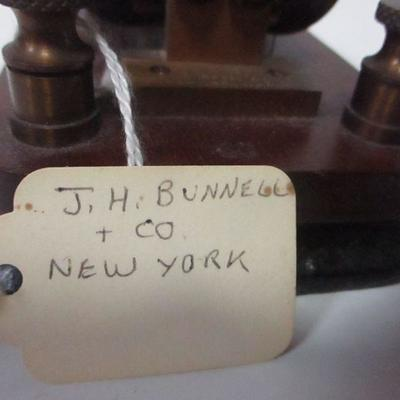 Lot 12 - J. H. Bunnell Co.- Pony Relay 50 OHMS - Telegraph