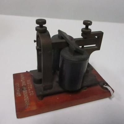 Lot 14 - Western Electric Telegraph Mainline Sounder 15-E