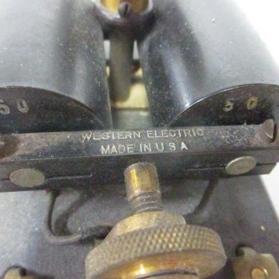 Lot 15 - Western Electric Telegraph Relay Model 21A