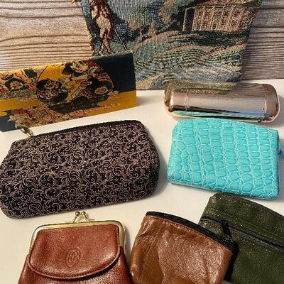RB8: Collection of Wallets and Change Purses