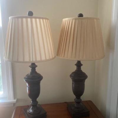 103: Pair of Pottery Barn Lamps