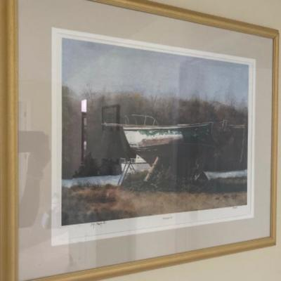 "113: Signed and Numbered  Lithograph "" Windspiel IV"" by Ed Szydowski"