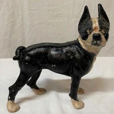 LOT#R17: Cast Boston Terrier Doorstop