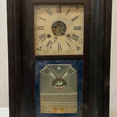 LOT#V19: William S Johnson Ogee Clock