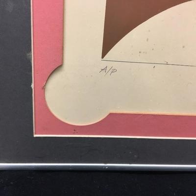 Mixed Media Artist Proof Pencil Signed Art