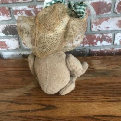 Teddy Bear with Garden theme