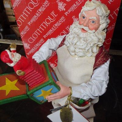 Possible Dreams - Santa with Jack in the Box
