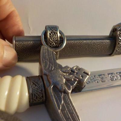 1940 German Officers Dress Dagger Replicate.