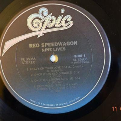REO Speedwagon ~ Nine Lives