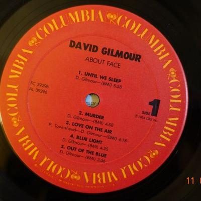 David Gilmour ~ About Face