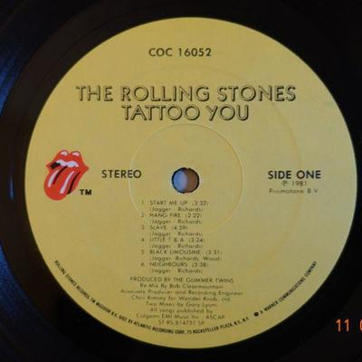 Rolling Stones ~ Tattoo You