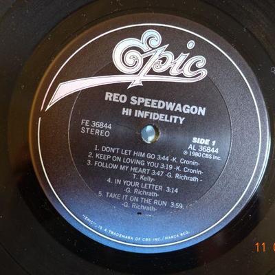 REO Speedwagon ~ Hi Infidelity