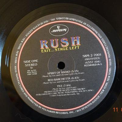 RUSH ~ Exit Stage Left
