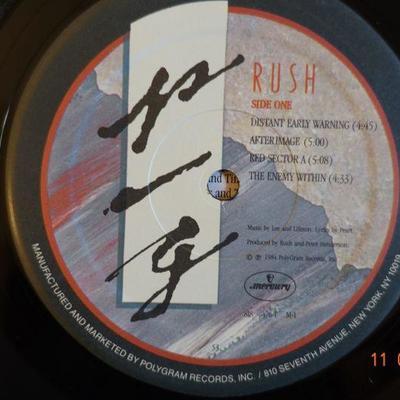 RUSH ~ Grace Under Pressure
