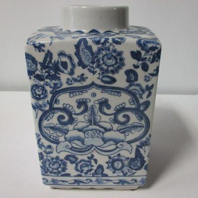 Lot 2 - Vintage Chinoiserie Porcelain Ginger Jar