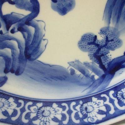 Lot 8 -Vintage Blue & White Porcelain 12