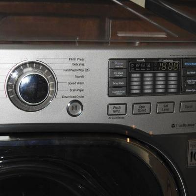 LG Stainless Dual Washer & Dryer **PRICE REDUCED**
