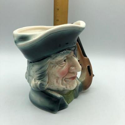 Large Eye Patch Pirate with Gun Handle Toby Mug