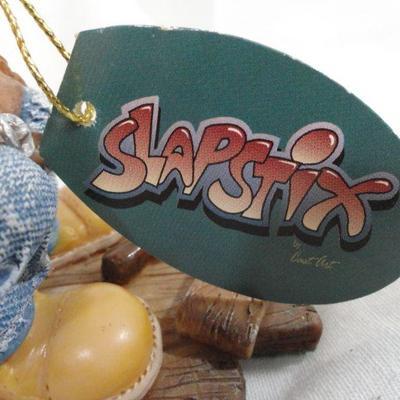 Lot 329 Slapstix statuette