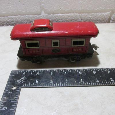 Lot 272 Four Model Train Cars, Vintage