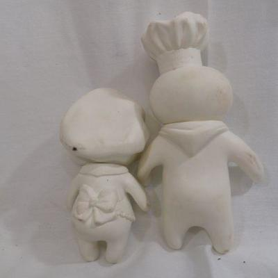 Lot 327 Pillsbury Dough Boy and Girl