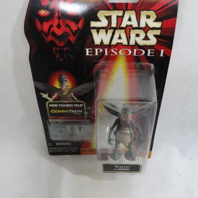 Lot 277 Star Wars Episode 1 Figurines
