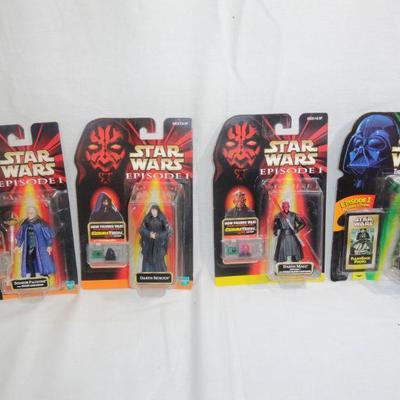 Lot 276 Star Wars Episode 1 Figurines