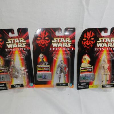 Lot 275 Star Wars Episode 1 Figurines