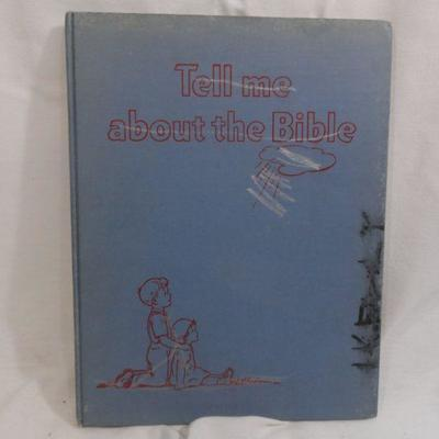 Lot 306 Tell me about the Bible Vintage Book