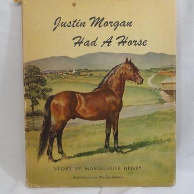 Lot 304 Justin Morgan had a Horse Vintage Book
