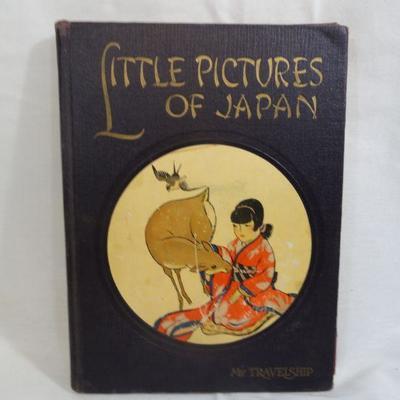 Lot 303 Little Pictures of Japan Vintage Book
