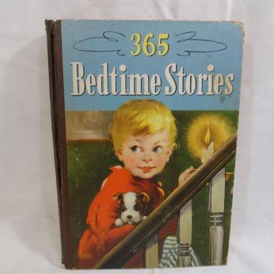 Lot 302 - 365 Bedtime Stories Vintage Book