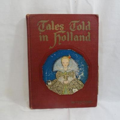 Lot 300 Tales Told in Holland Vintage Book